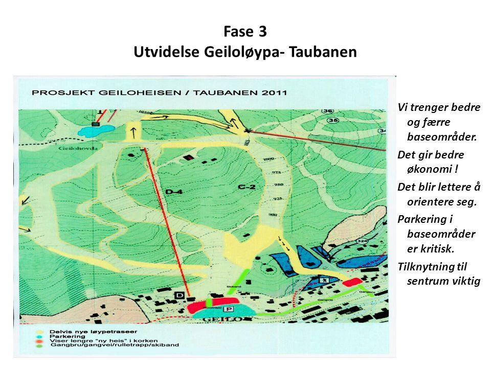 Fase 3 Utvidelse Geiloløypa- Taubanen