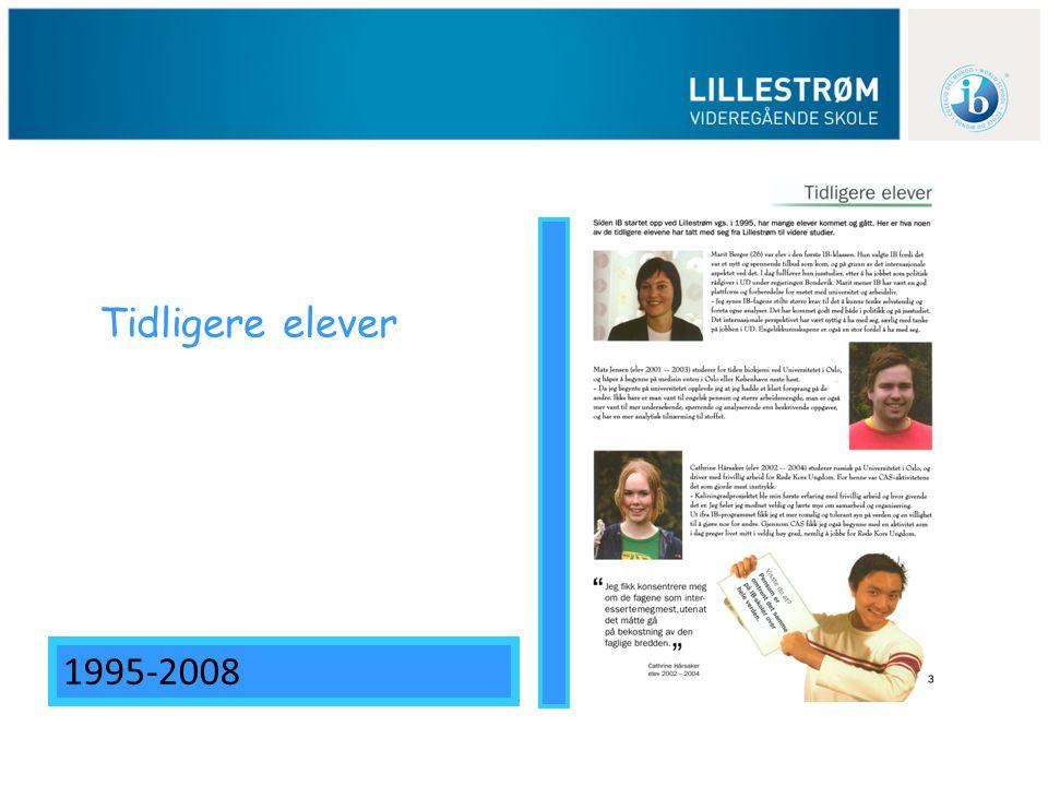 Tidligere elever 1995-2008