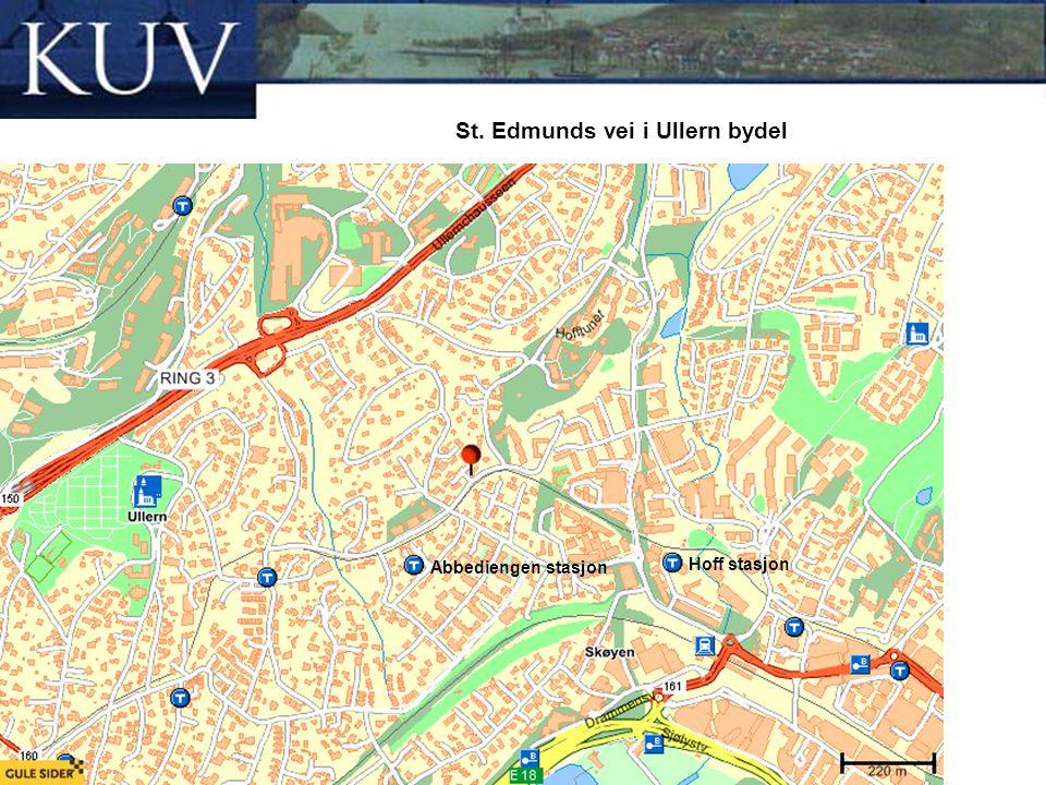 St. Edmunds vei i Ullern bydel
