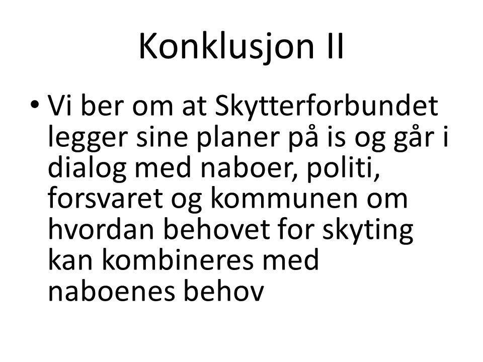 Konklusjon II