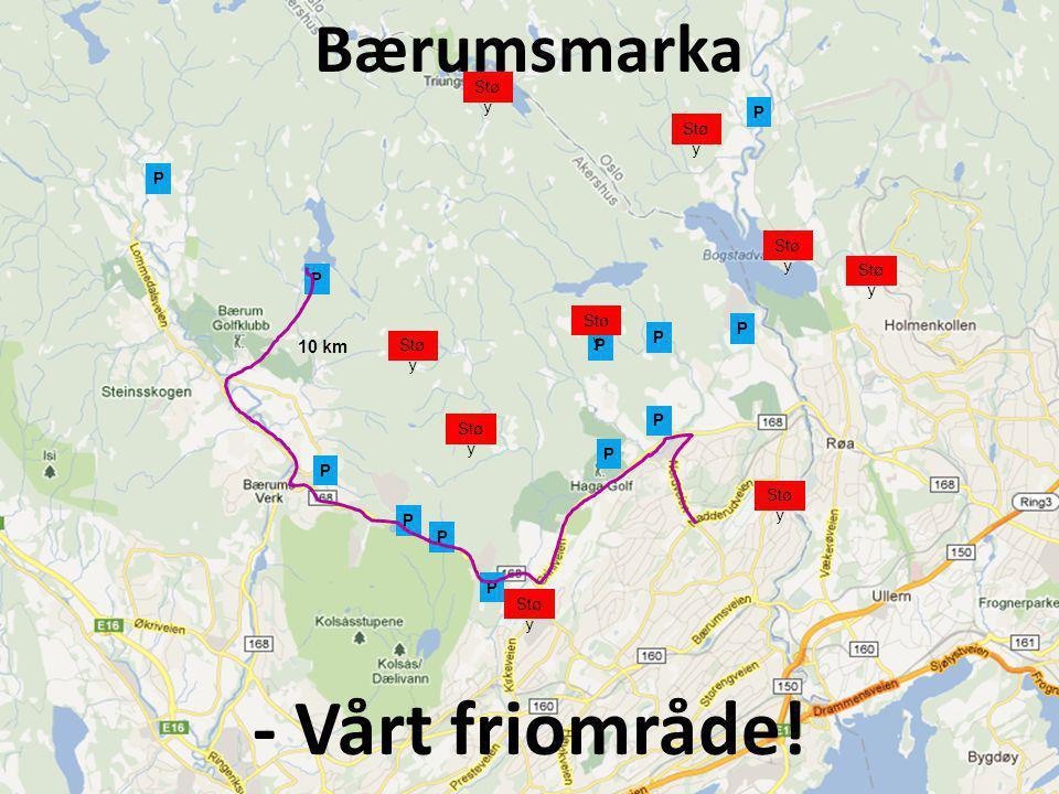 - Vårt friområde! Bærumsmarka 10 km