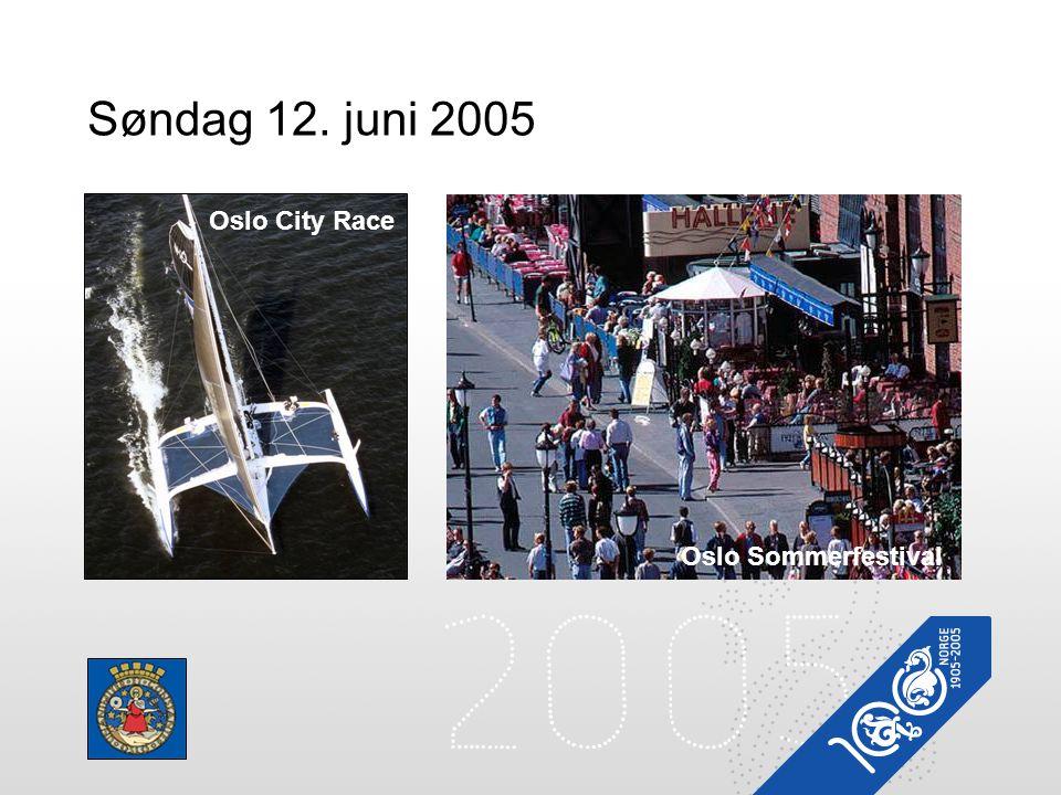 Søndag 12. juni 2005 Oslo City Race Oslo Sommerfestival