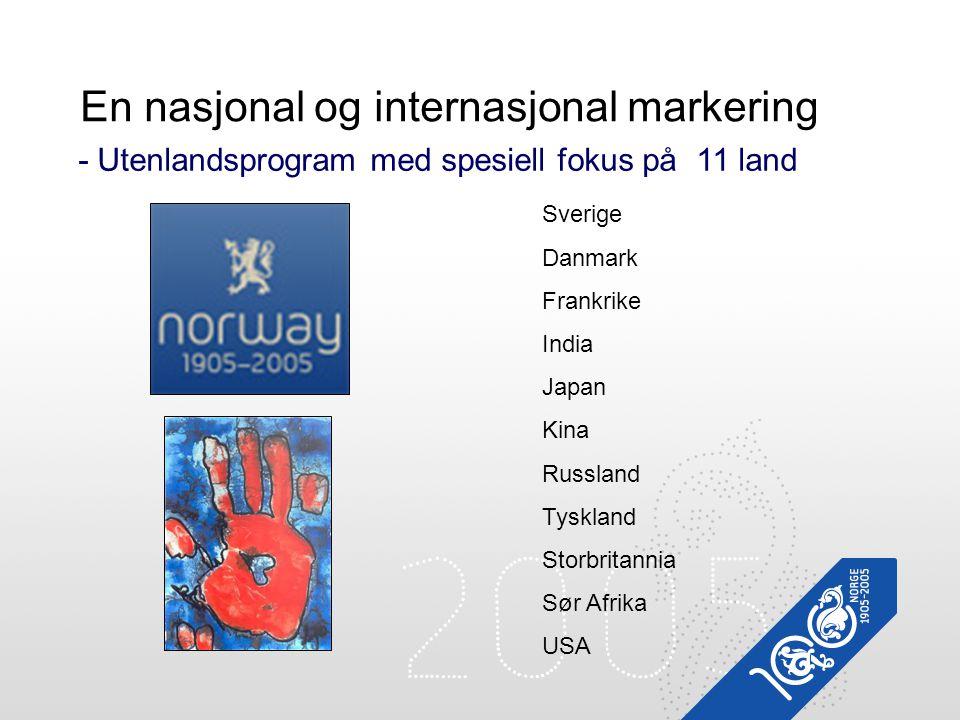 En nasjonal og internasjonal markering