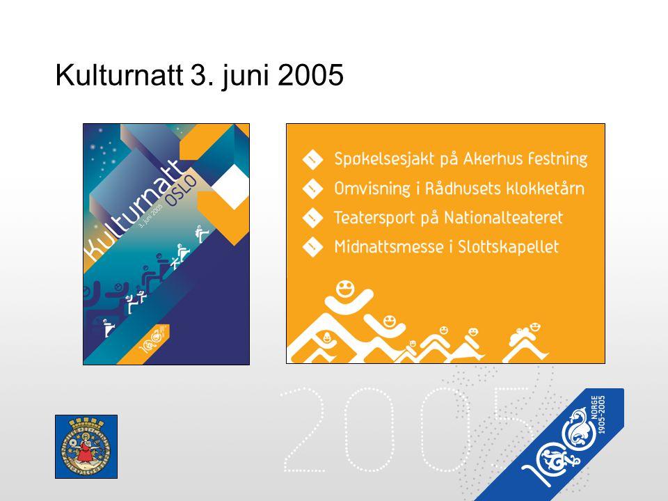 Kulturnatt 3. juni 2005