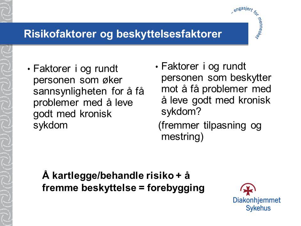 Risikofaktorer og beskyttelsesfaktorer