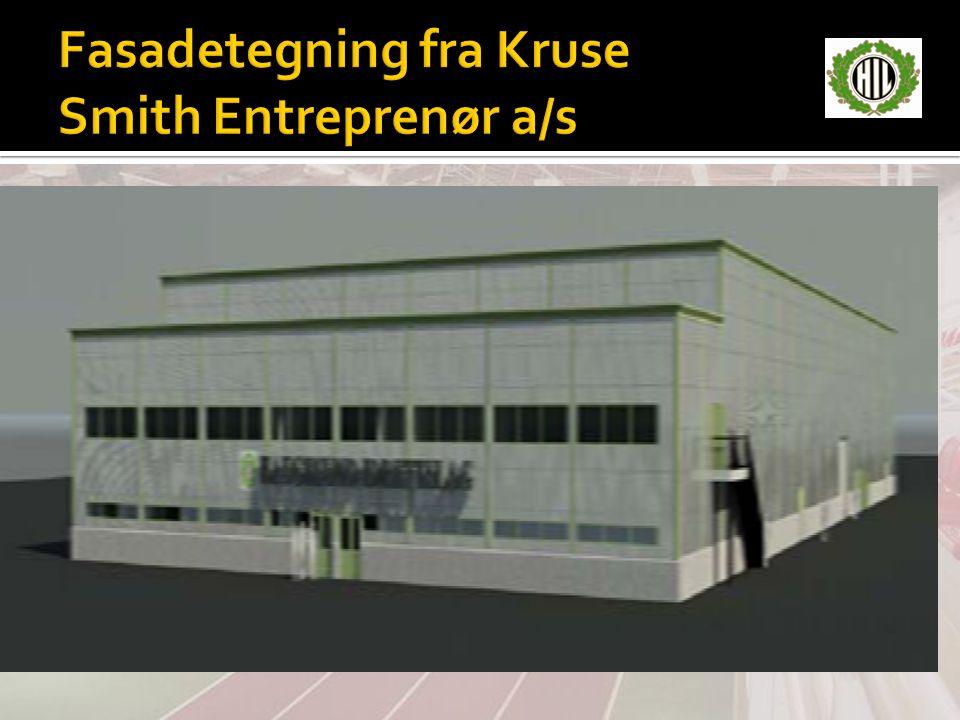 Fasadetegning fra Kruse Smith Entreprenør a/s