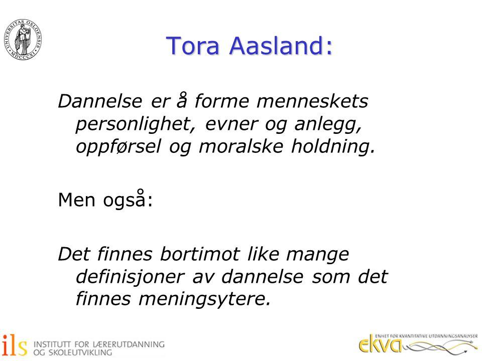 Tora Aasland:
