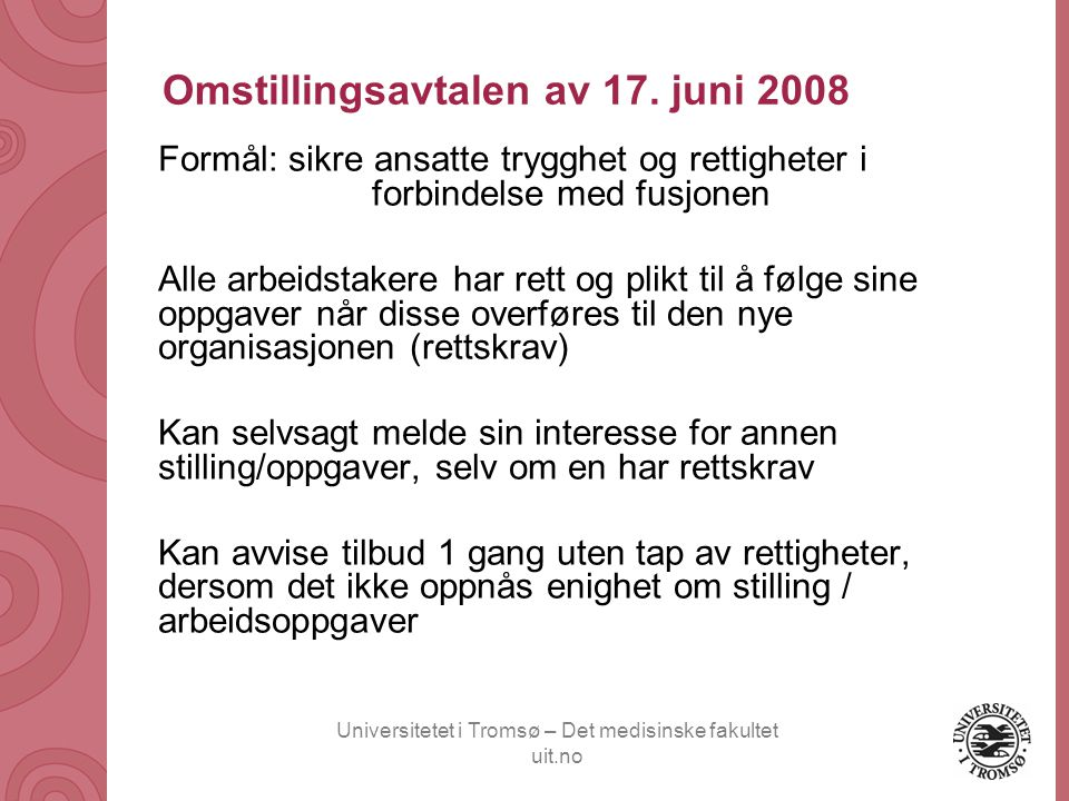 Omstillingsavtalen av 17. juni 2008