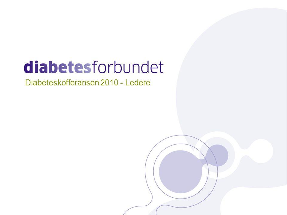 Diabeteskofferansen 2010 - Ledere