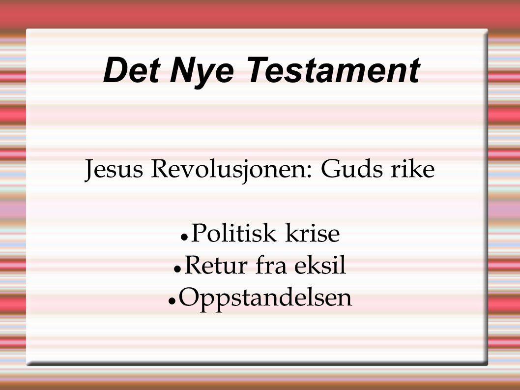 Jesus Revolusjonen: Guds rike