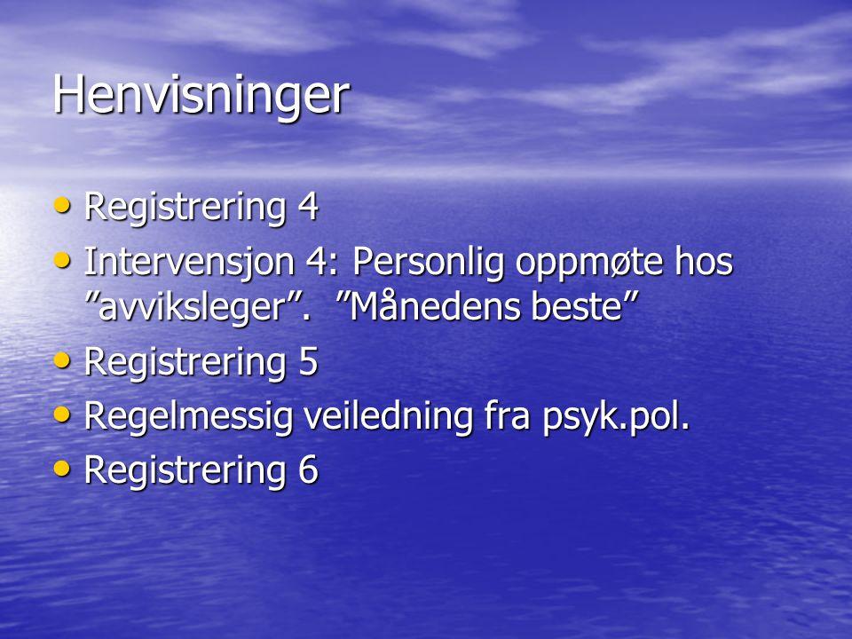 Henvisninger Registrering 4