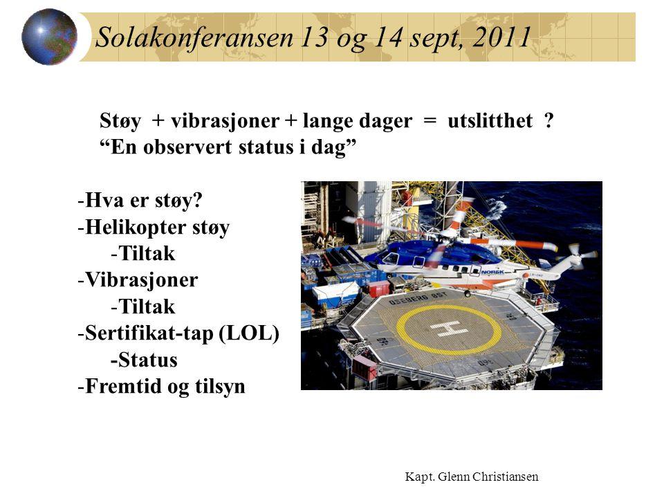 Solakonferansen 13 og 14 sept, 2011