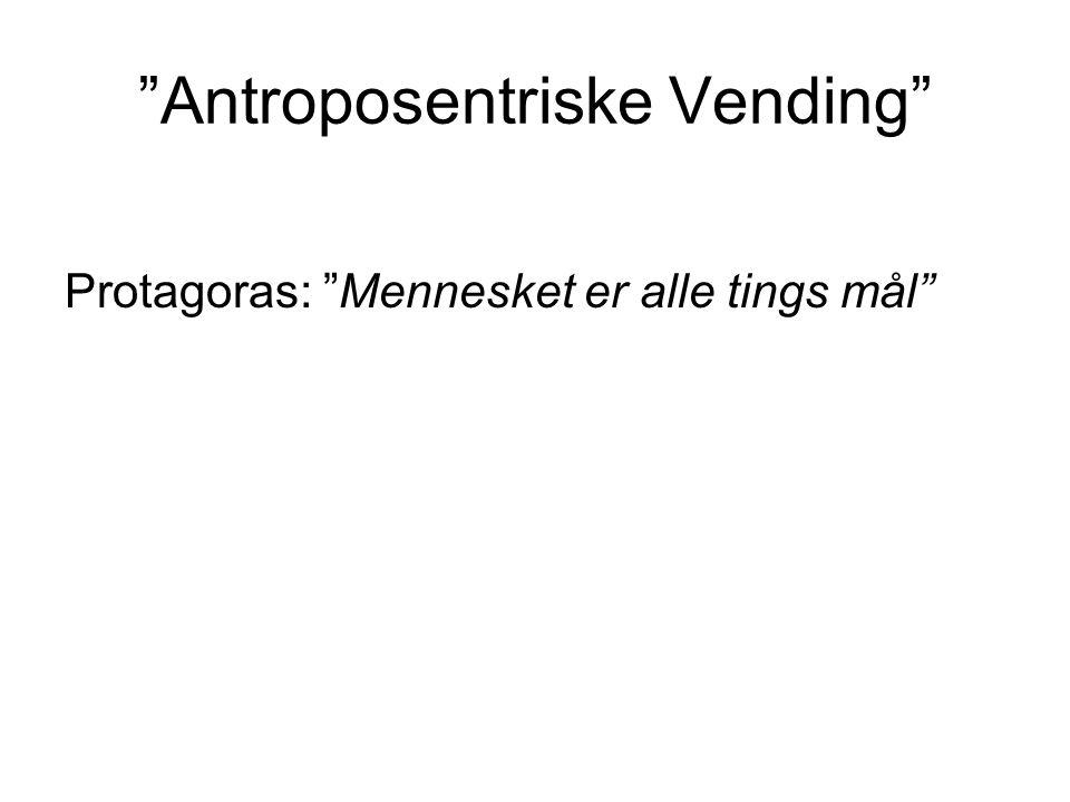 Antroposentriske Vending