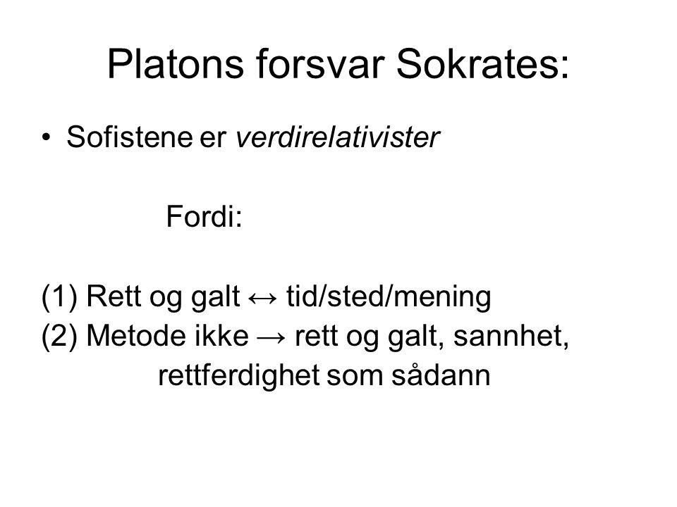 Platons forsvar Sokrates: