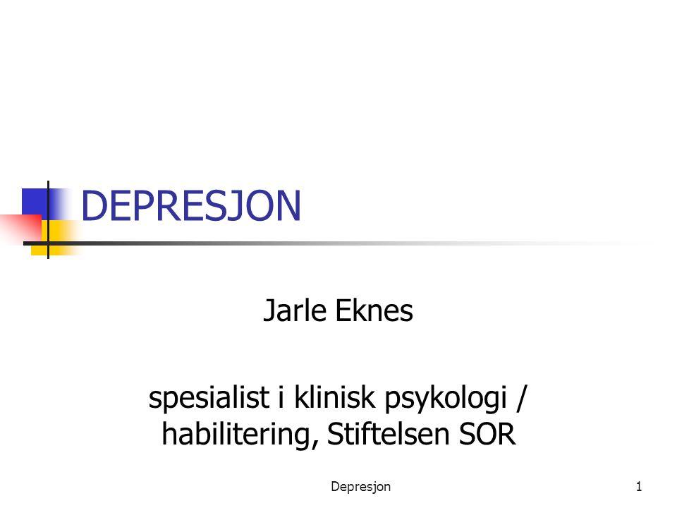 spesialist i klinisk psykologi / habilitering, Stiftelsen SOR