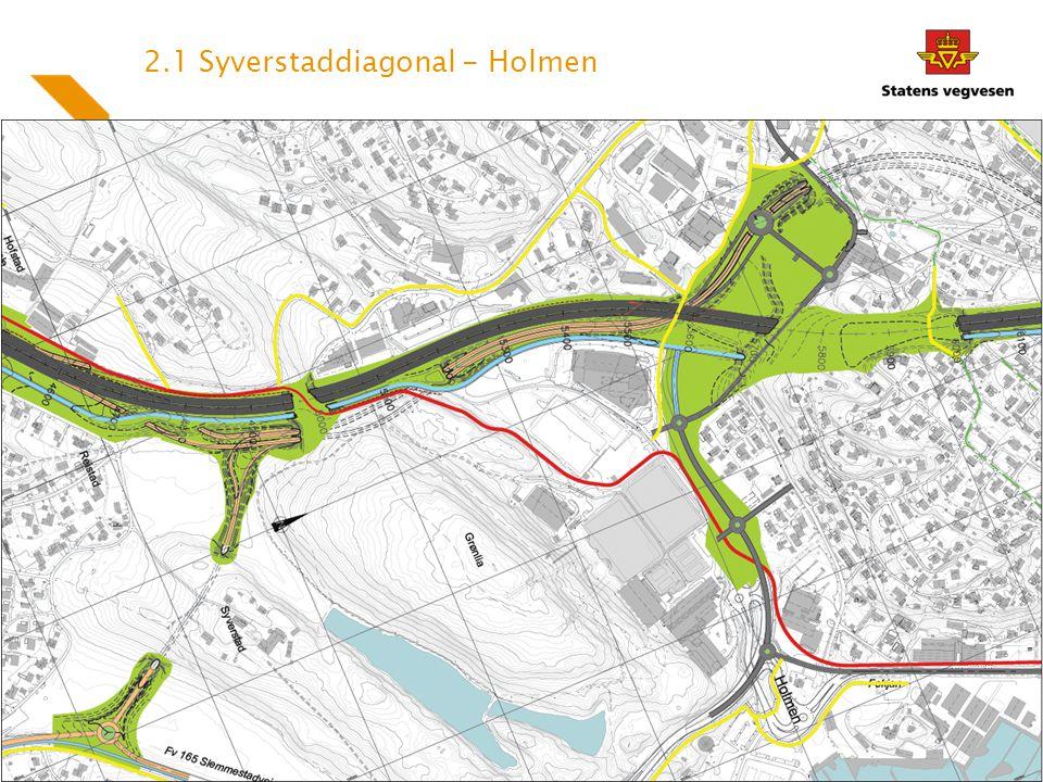 2.1 Syverstaddiagonal - Holmen