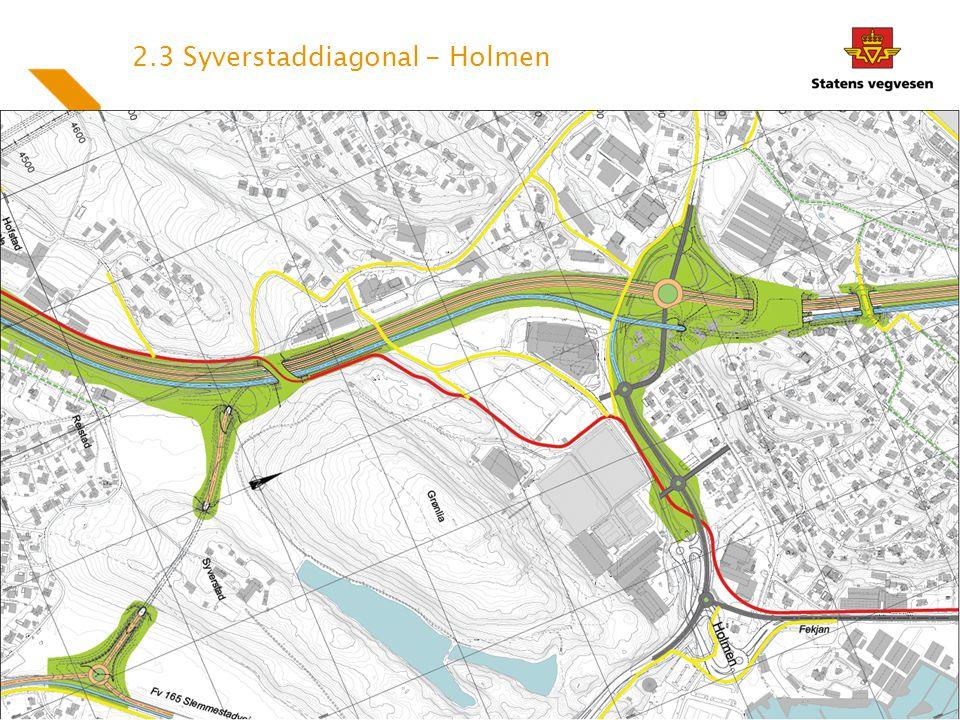 2.3 Syverstaddiagonal - Holmen