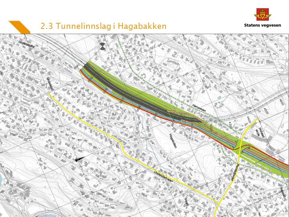 2.3 Tunnelinnslag i Hagabakken