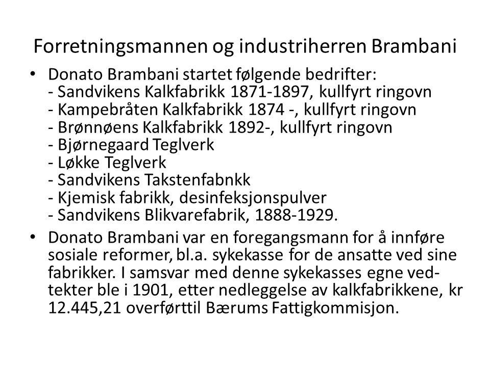 Forretningsmannen og industriherren Brambani