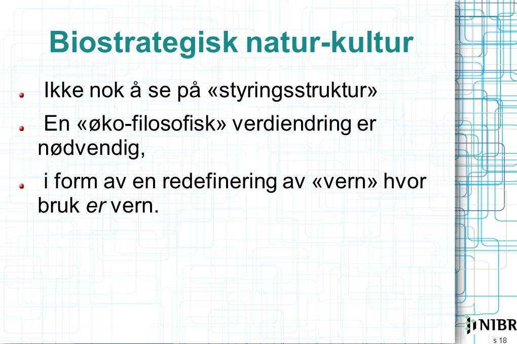 Biostrategisk natur-kultur