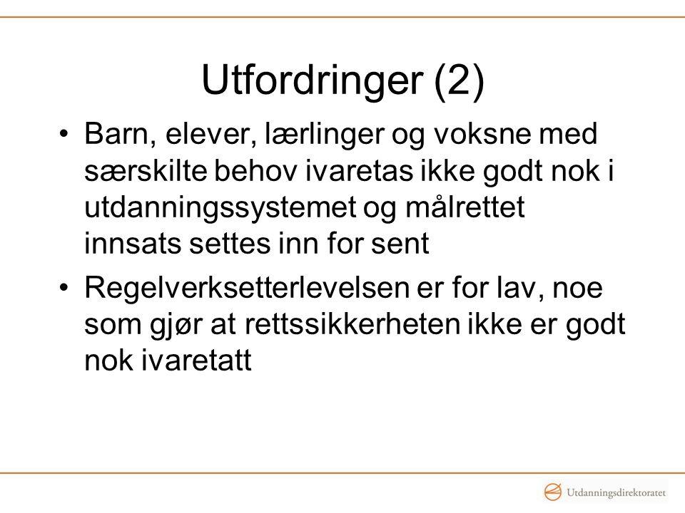 Utfordringer (2)