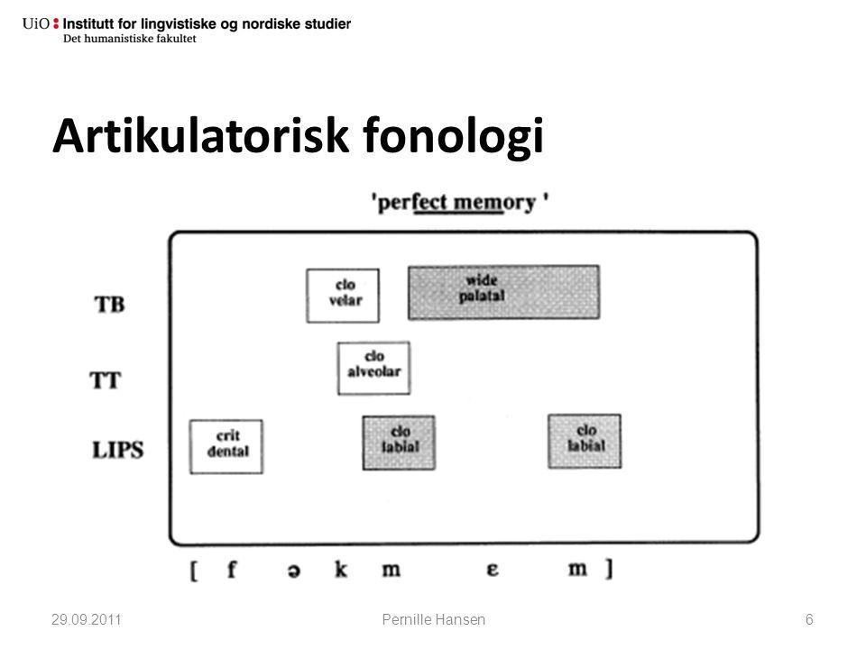 Artikulatorisk fonologi