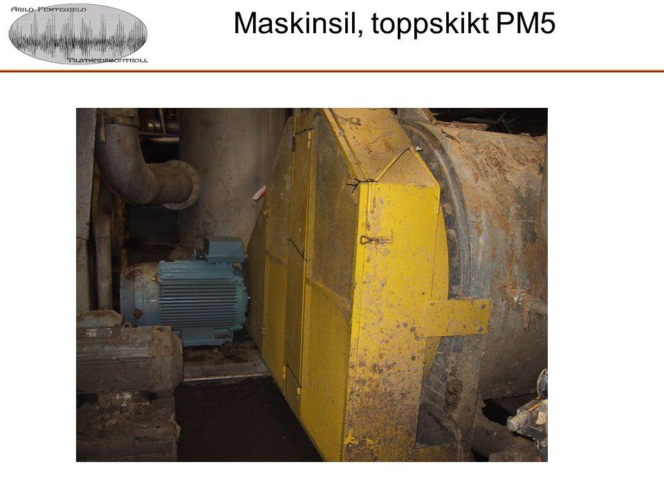 Maskinsil, toppskikt PM5