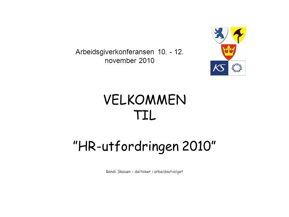 Arbeidsgiverkonferansen 10. - 12. november 2010