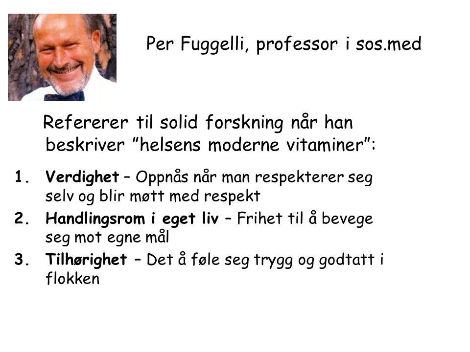 Per Fuggelli, professor i sos.med