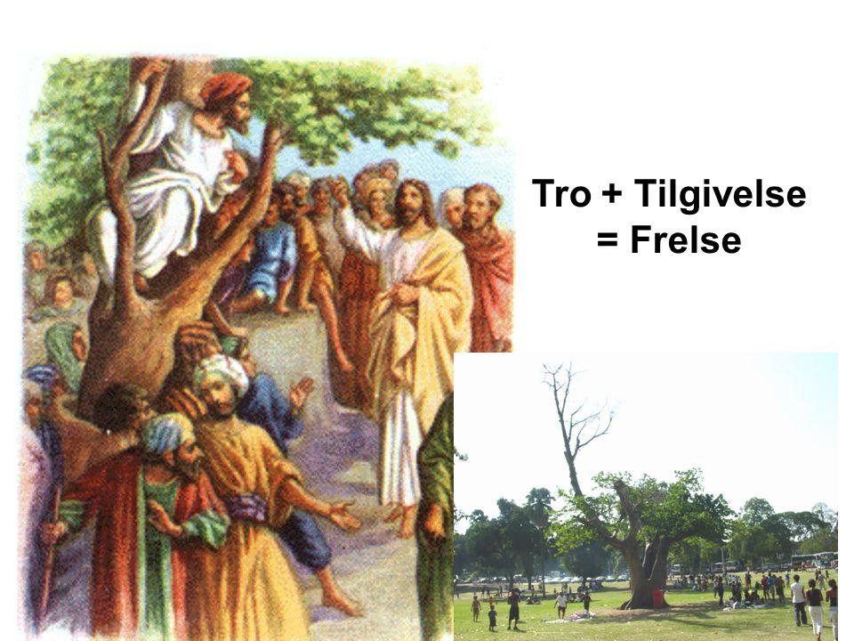 Tro + Tilgivelse = Frelse