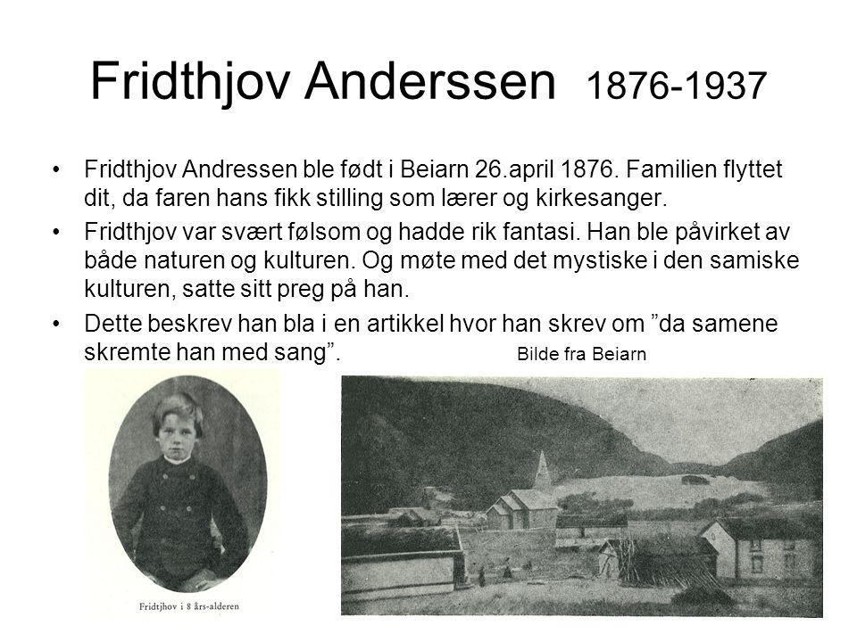 Fridthjov Anderssen 1876-1937