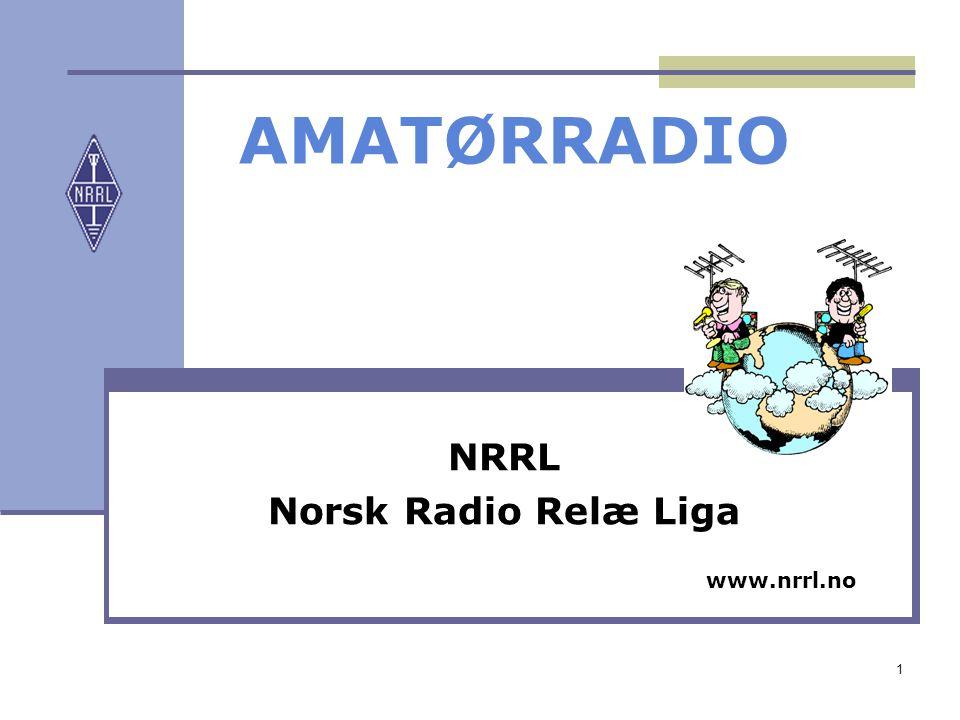NRRL Norsk Radio Relæ Liga www.nrrl.no