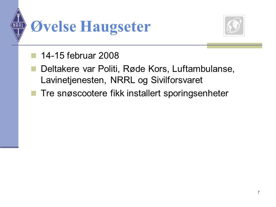 Øvelse Haugseter 14-15 februar 2008