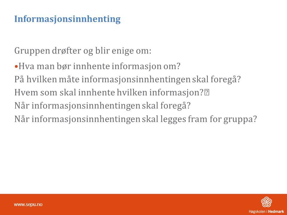 Informasjonsinnhenting