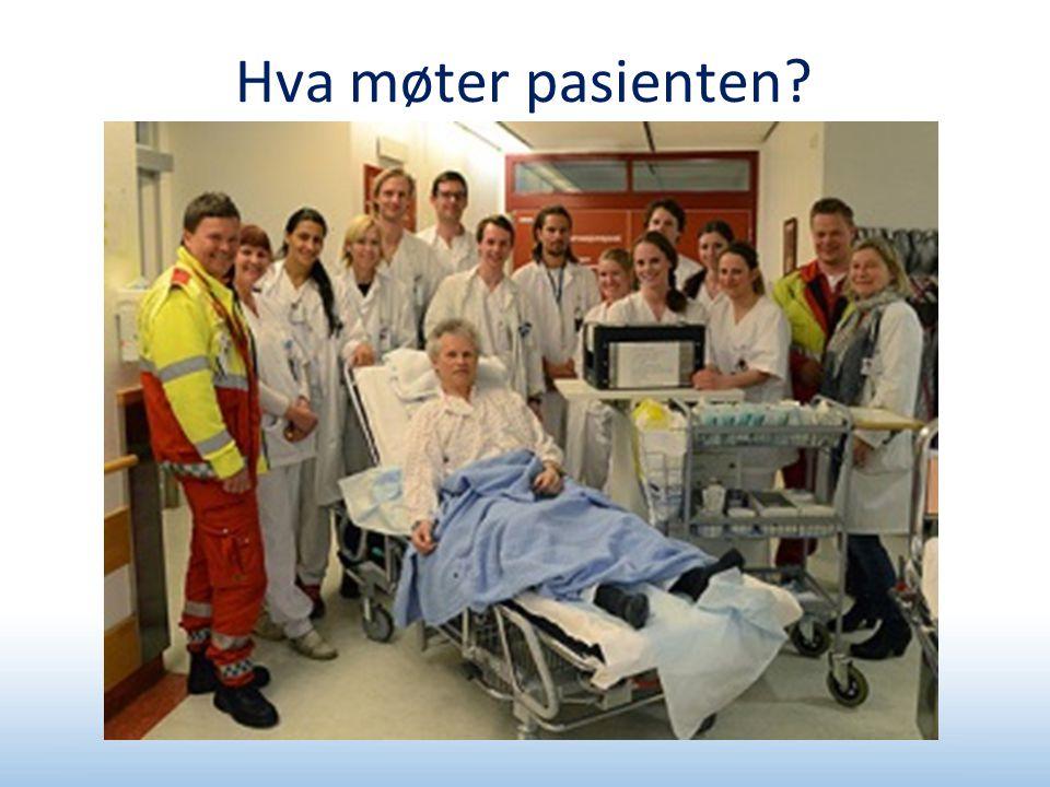 Hva møter pasienten