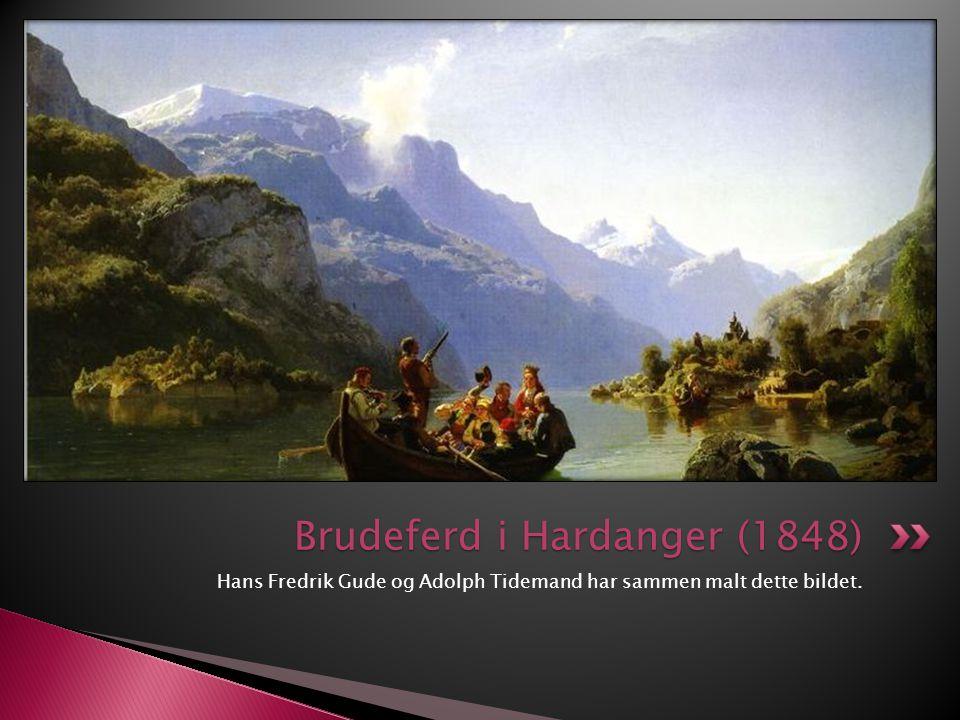 Brudeferd i Hardanger (1848)