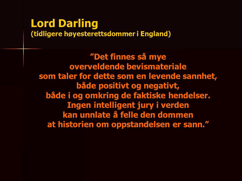 Lord Darling (tidligere høyesterettsdommer i England)