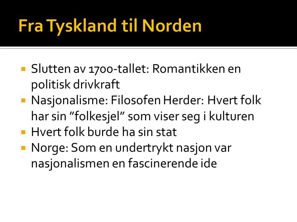 Fra Tyskland til Norden