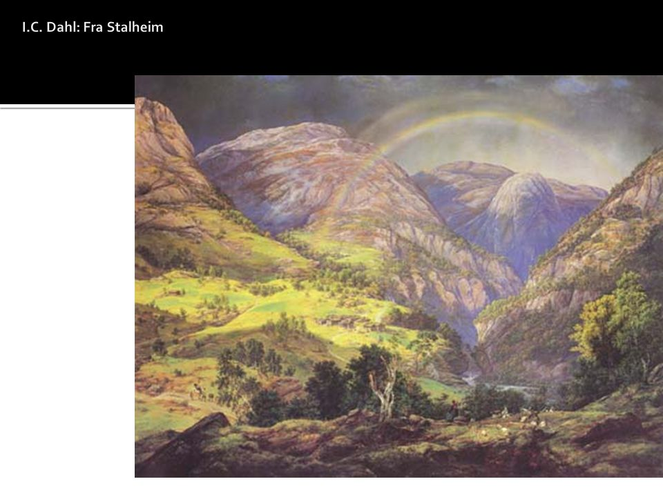 I.C. Dahl: Fra Stalheim