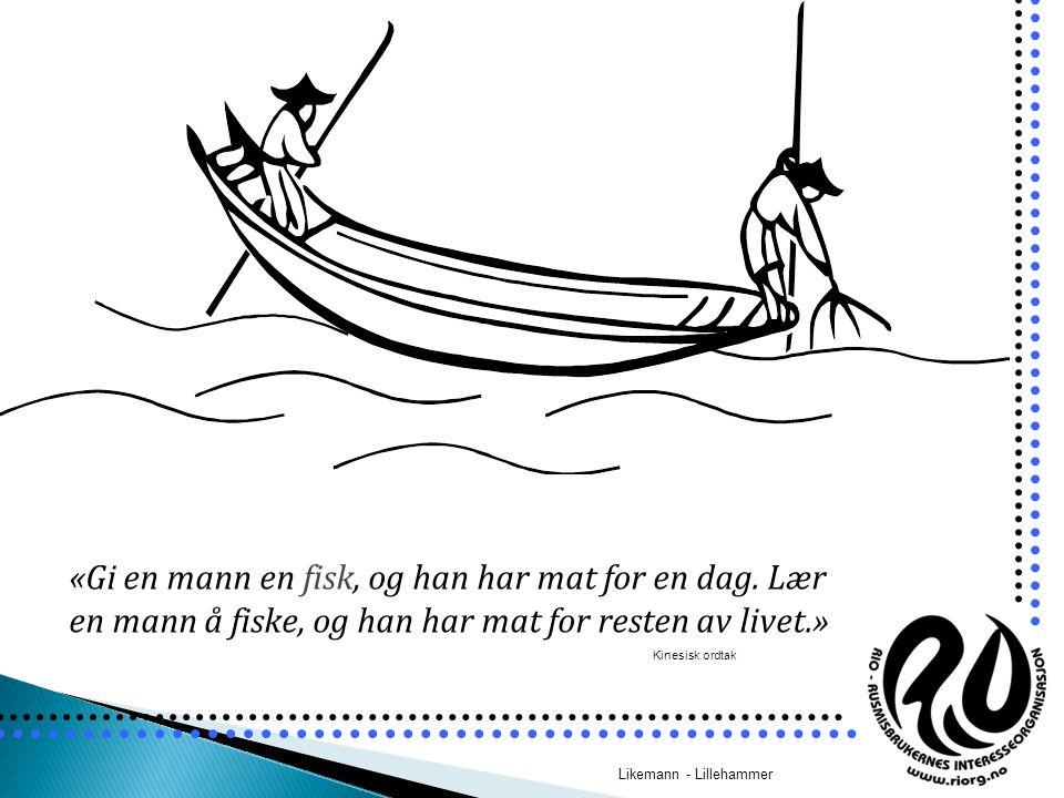 «Gi en mann en fisk, og han har mat for en dag