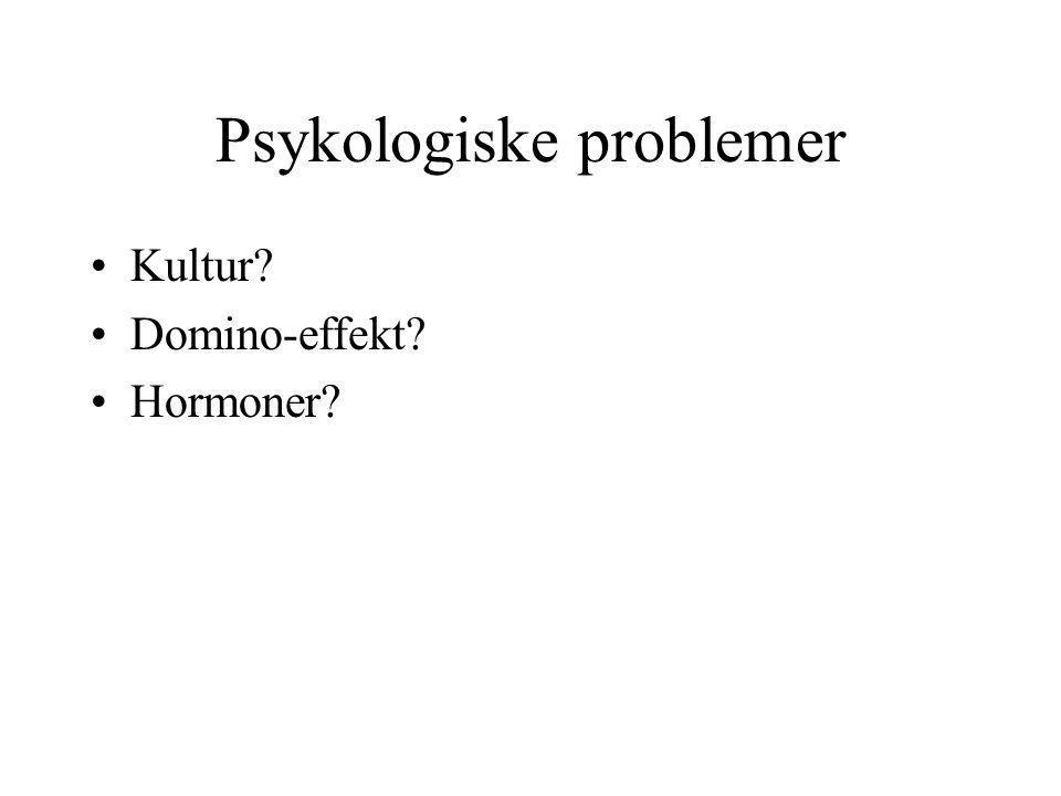 Psykologiske problemer
