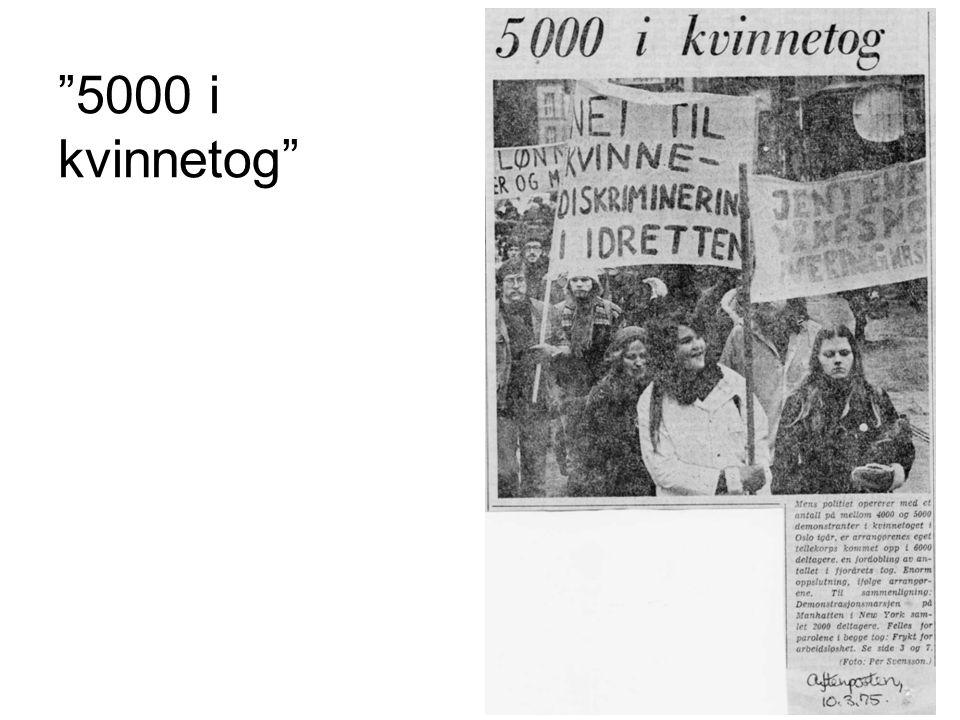 5000 i kvinnetog