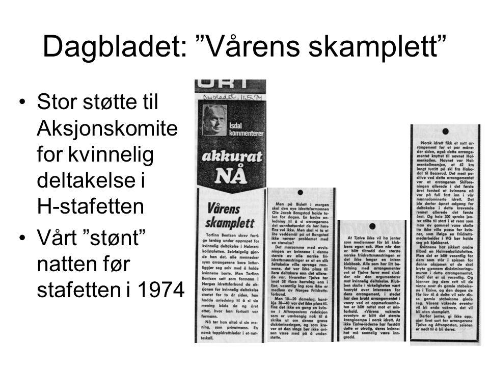 Dagbladet: Vårens skamplett