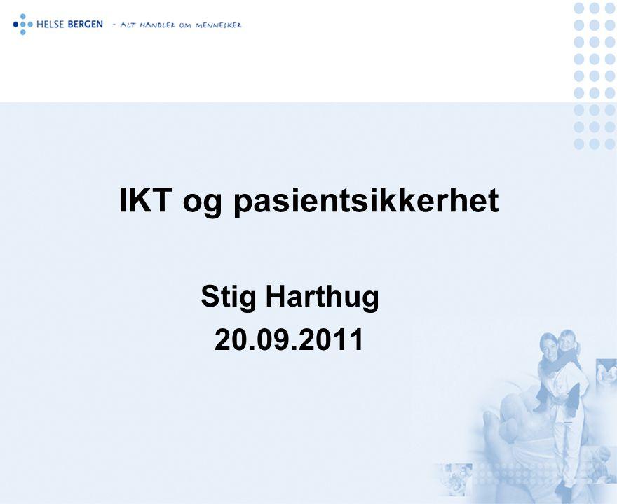 IKT og pasientsikkerhet