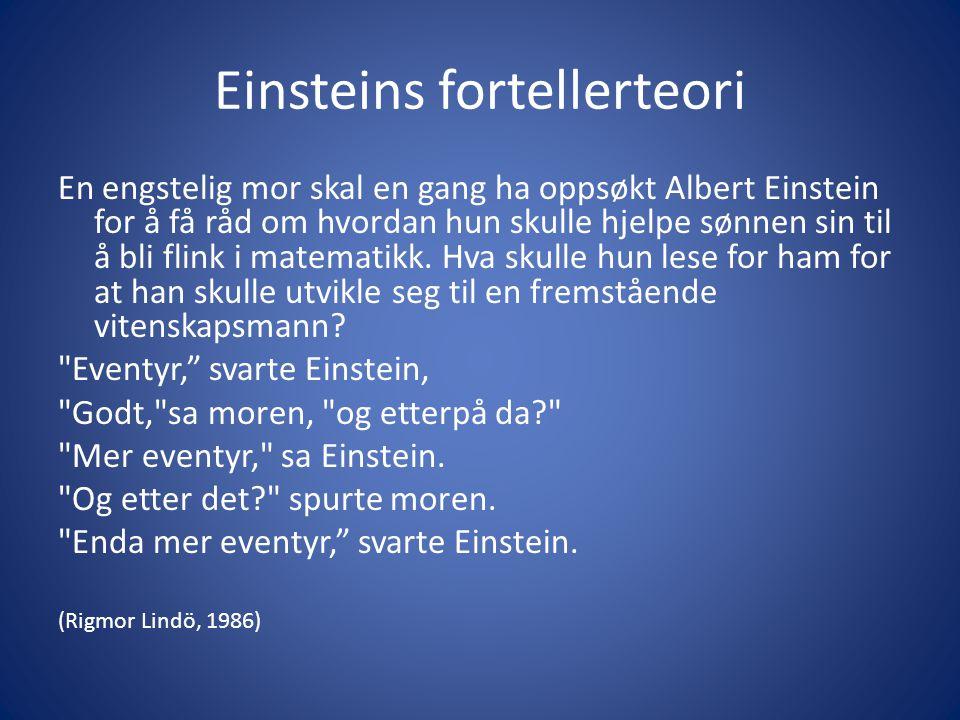 Einsteins fortellerteori