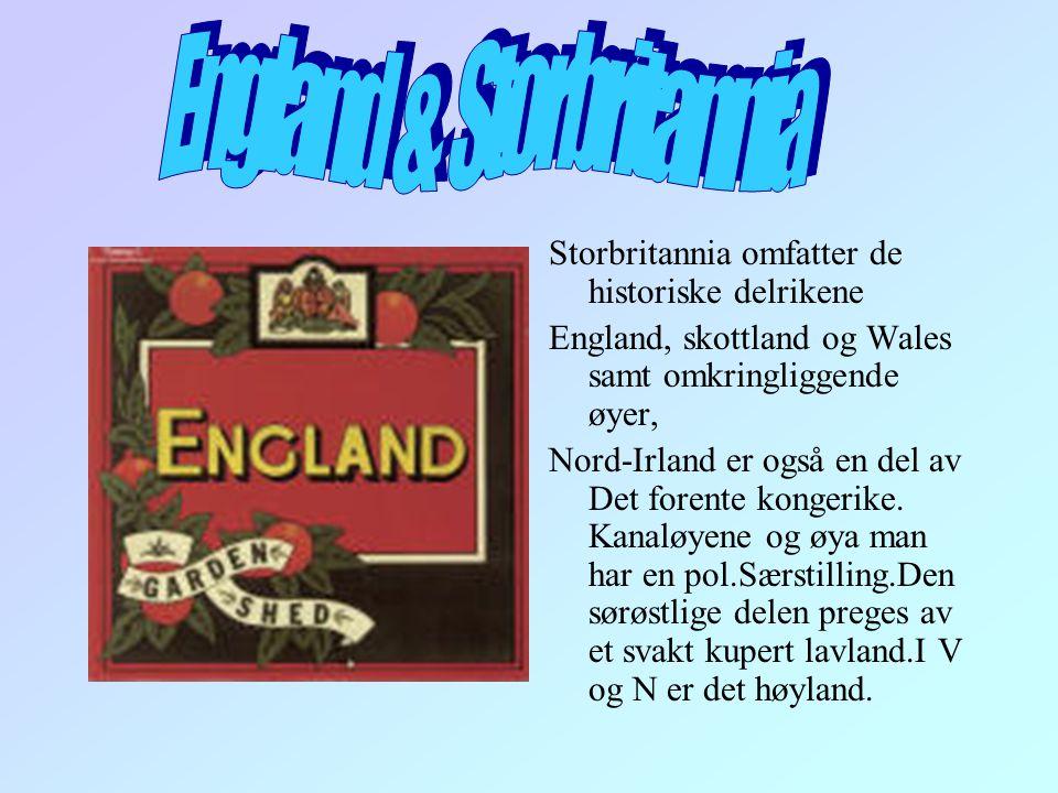 England & Storbritannia