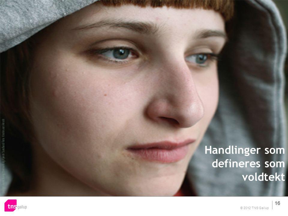 Handlinger som defineres som voldtekt