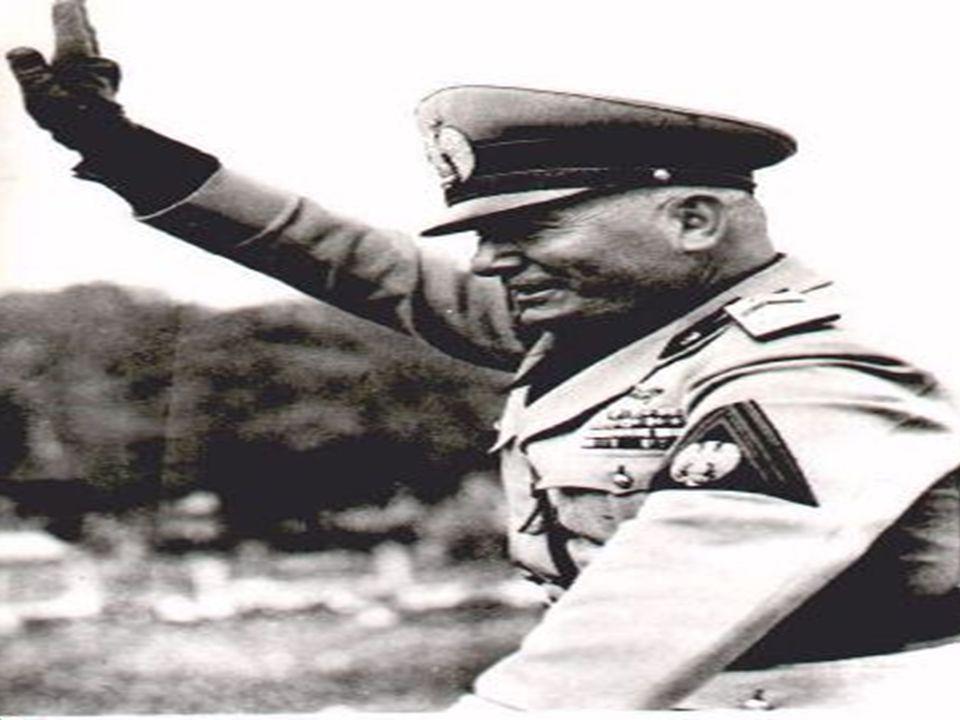 Fascismens fremgang I Italia ble Fascistpartiet dannet etter WW1