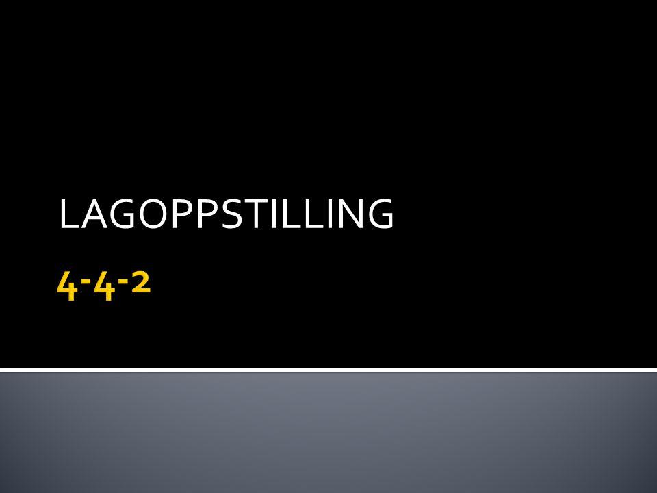 LAGOPPSTILLING 4-4-2