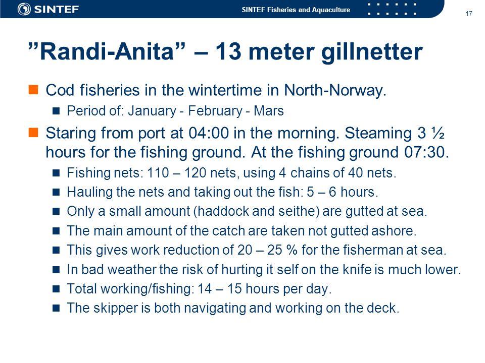 Randi-Anita – 13 meter gillnetter